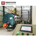 Chaudière à vapeur à mazout diesel pour le dimensionnement de l'usine