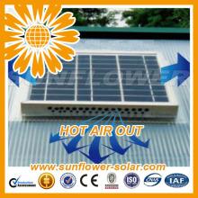Novo design de energia solar com ventilador com baixo preço