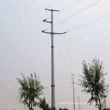 110kv Corner Power Transmission Steel Tube Tower