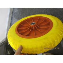 Roda da espuma do plutônio da roda do carrinho de mão 4.00-8