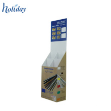 Cardboard Floor Stand Chocolate Display Cabinet,Display Stands For Chocolate Factory Price