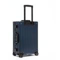 Newest fashion travelling bags aluminum Magnesium Alloy luggage case
