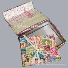 Настройка заметки Keepsake Note Set Keepsake Box с заметками и конвертами