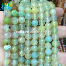 crystal quartz 10mm faceted round gemstones stone jewelry beads