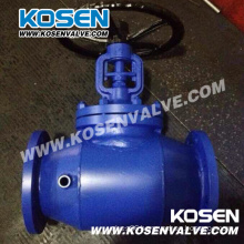 Jacketed Bellows Sealed Globe Valve (WJ41H)