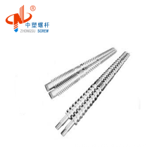 65/132 twin conical screw barrel with best price manufacturer from China