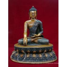 Крытый фэншуй металлические ремесла бронзовый Непал ручной работы статуя Будды для продажи
