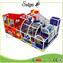 2016 New Style Attractive Combined Playability Indoor Playground