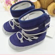 Sapatas de bebê do menino Sapatas do bebê do inverno das botas do bebê Kx715 (9)
