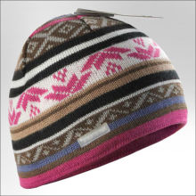 stretch cotton beanie hat