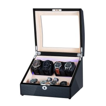 Dual Rotor Watch Winder для 4 + 4 часов