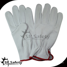 SRSAFETY cow driver leather glove safe working gloves