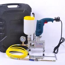 Waterproof project SL-600 with Hitachi Drill spray foam insulation machine injection machine