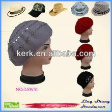 Hot sale women's winter Felt Hat Wool Hat , LSW51