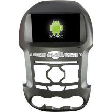 Android System lecteur dvd de voiture pour FORD Ranger avec GPS, Bluetooth, 3G, ipod, jeux, double zone, contrôle du volant