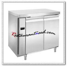 R306 2 Doors Luxurious Fancooling Undercounter Refrigerator/Freezer