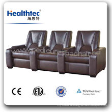 Durable PU/Real/PVC Leather Cinema Hall Chair (T019-C)