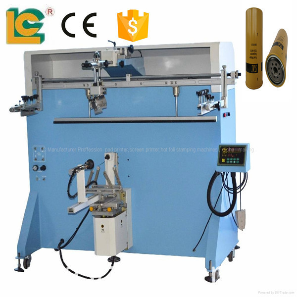 Popular semi-automatic screen printer for bottle