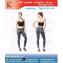 GREAT GILL's INCORPORATION Women sexy sports bra and shorts set