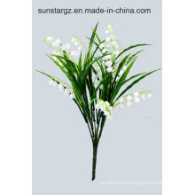 PE Lily Bellflower Artificial Plant for Home Decoration (48539)