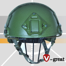 Fast Bulletproof Helmet Made of Aramid Woven Fabric