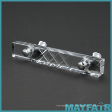 Melhor Hardware Almofada de cozinha alças de gabinete de cristal