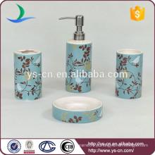 Conjunto de acessórios de banheiro azul do hotel YSb40055-03