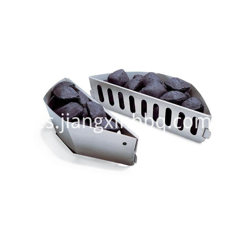 Charcoal Briquette Holder Outdoor Bbq