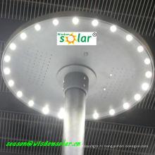 À la mode lumière de LED solaire pelouse CE platelage éclairage avec rond top(JR-CP98)