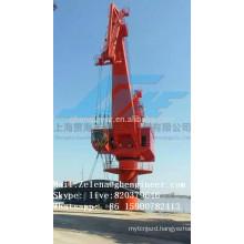 Harbor Portal Crane For Unloading Vessels
