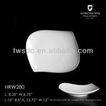 HRW280 Fische design Suppenteller, Dienst moderne Platte