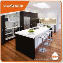 Gabinetes de cocina bajos vendedores calientes para la venta
