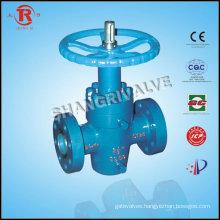 Oilfield special valve gate valve
