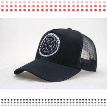 High Quality Fashion Black 6 Panel Baseball Caps for Sale
