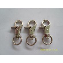 high quality custom mini metal snap hook for bag