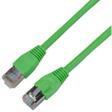 Cable Ethernet blindado Cat5e para exteriores