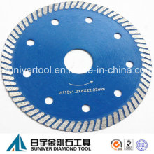 """4.5"""" Super Thin Turbo Blade for Ceramic Tile Cutting"""