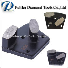 Assoalho concreto que moe a sapata de moedura do segmento abrasivo do diamante de Frankurt