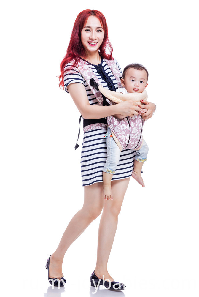 Free to grow comfortable printed baby carrier