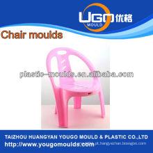 Moldes de cadeira de criança plástica de venda quente com braço para escola