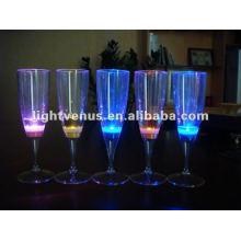 liquide actif Led clignotant en verre