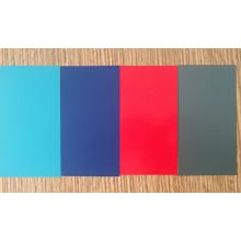 Color Azul Oscuro Revestimiento PVDF Aluminio Bobina