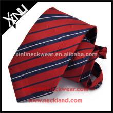 Nó perfeito 100% Handmade poliéster homens Zipper gravata