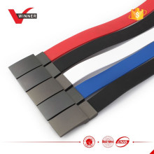 Colorful Rubber Silicone Military Buckle belts