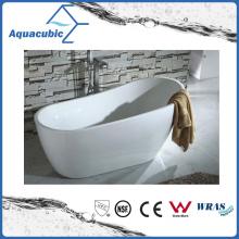 New Style Ellipse Acrylic Freestanding Bathtub (AB6908-1)