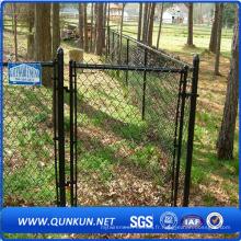 Vente chaude belle clôture de maillon de chaîne pour le jardin