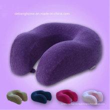 Travesseiro de espuma de pescoço de memória retalhado