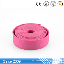 Custom printed logo tpu plastic coated webbing 1.25 inch polyester webbing