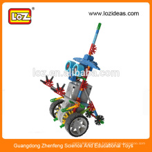LOZ robot B/O, large building block toys, robot for education