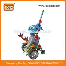 Комплект электрических роботов LOZ, учебный робот, набор головоломок для детей